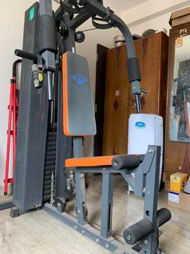 Home gym fitness set in excellent condition
