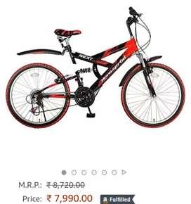 Hero next 26t 18 gear bicycle
