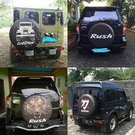Cover/Sarung Ban Toyota Rush/Terios/Panther/CRV OK werkudara  Pasang y