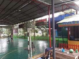 Disewakan Lapangan Futsal dg Matras Interlock di Ciater Rawakalong