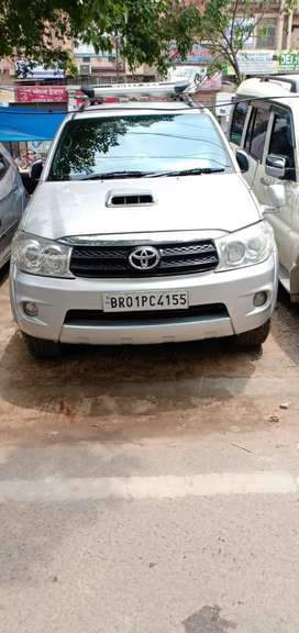 Fortuner top model in mint condition exchange with any car