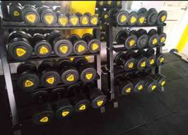 dumbbell plate fitness gym