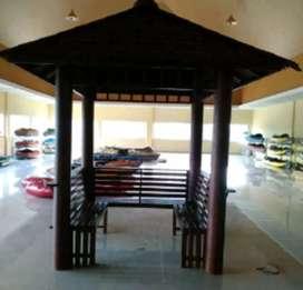 Saung gazebo garden