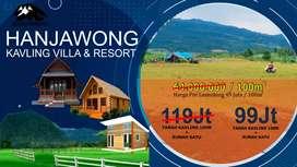 Dijual murah Tanah Kavling Hanjawong