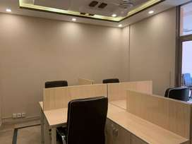 Workstation/ office space available on rent. Services include rent