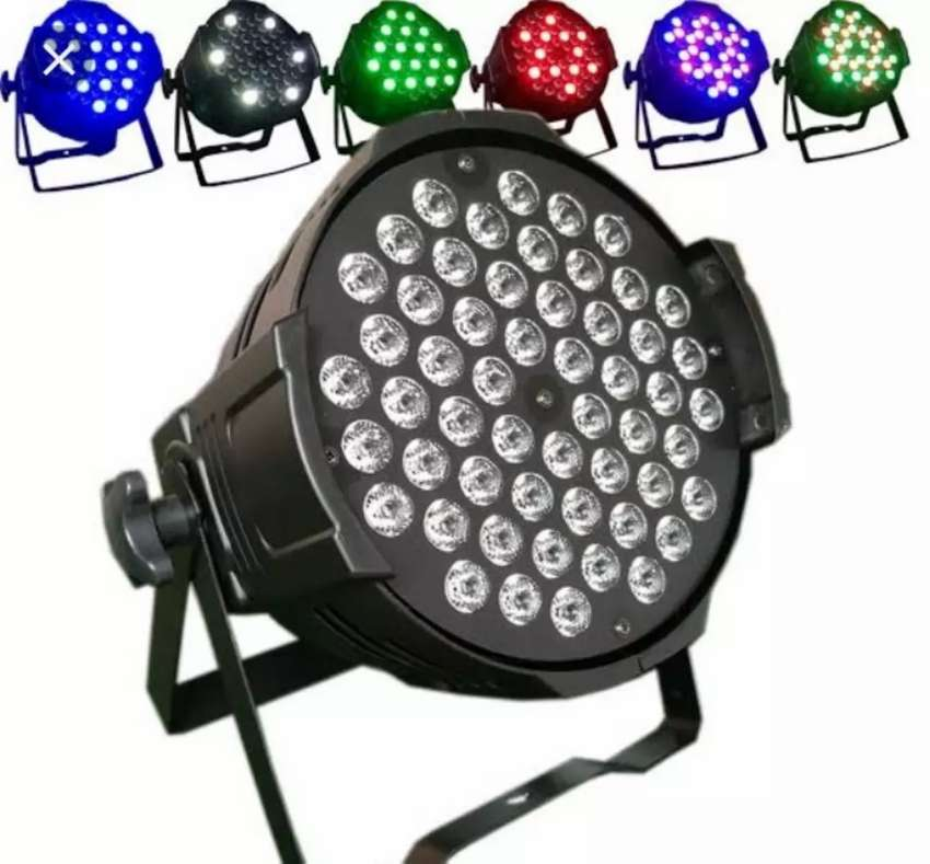 Par LED 54x3watt rgbw 0