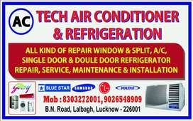 AC TECH AIRCONDITIONER AND REFRIGERATION WORK
