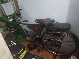 Sepeda onthel / kebo