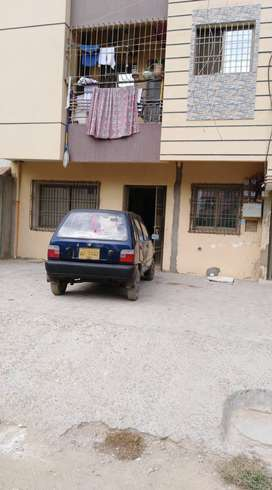Furnished Portion for sale 85+ yds ground floor Alfalah Society Malir