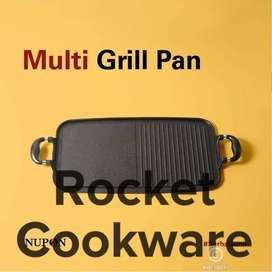 Multigrill pan alat panggang - panggang BBQ Persegi Panjang