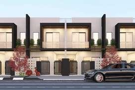 3 BHK Duplex for sale 46lac near rau in front Apna sweet AB Road