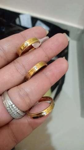 Cincin titaniun couple/pasangan/tunangan