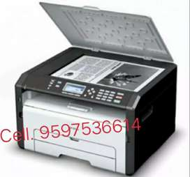 Ricoh Laser Printer (Print, Scan, Xerox)