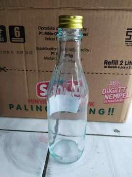 Botol kaca saos 330ml