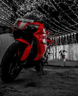 Brand new candition tvs rr310 red hot beuti