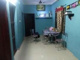 3 bed 1bath hall kitchen work area house lease near vennala