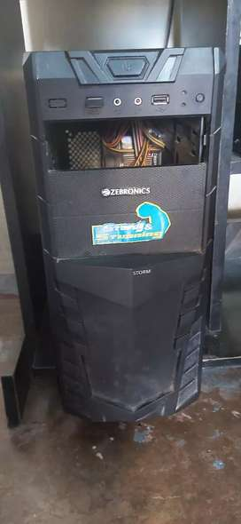 ZEBRONICS CPU with AMI motherboard 2gb ram Intel processre