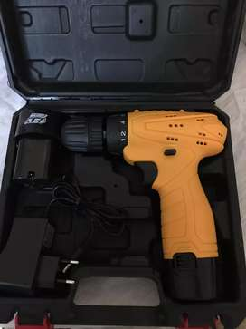 12v double battery Drill machine excellent quality working brand new