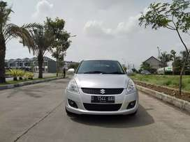 Bismillah Suzuki Swift GX Automatic 2013 Silver Antiq
