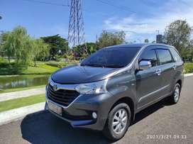 Toyota avanza G manual abuabu full ori low km 2017 surabaya