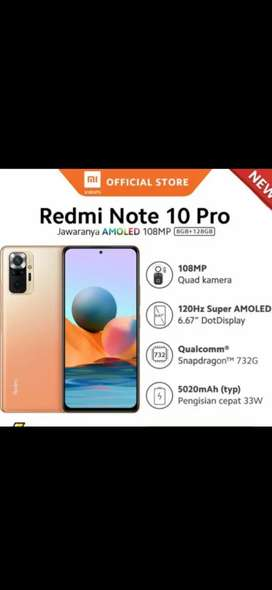 Ready stok Xiaomi note 10pro 8/128 GARANSI RESMI new segel dijamin