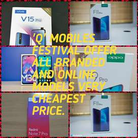 ALL BRANDED CHEAPEST PRICE FROM Q MOBILES.