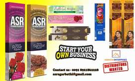 Wanted distributor and wholesaler for Agarbatti