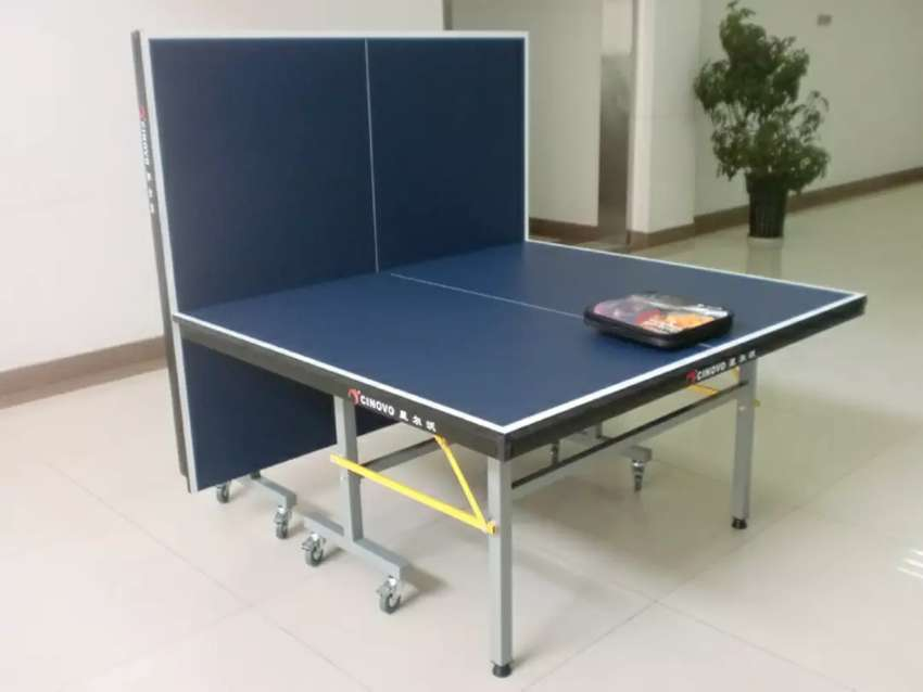 Table tennis table complete folding table