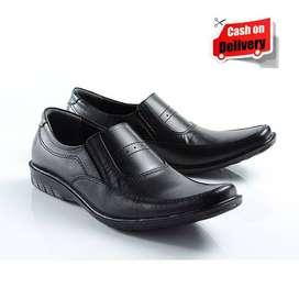 Sepatu Pantofel Pria KODE SP 5116 Khusus Kerja Bahan Kulit Sapi Asli