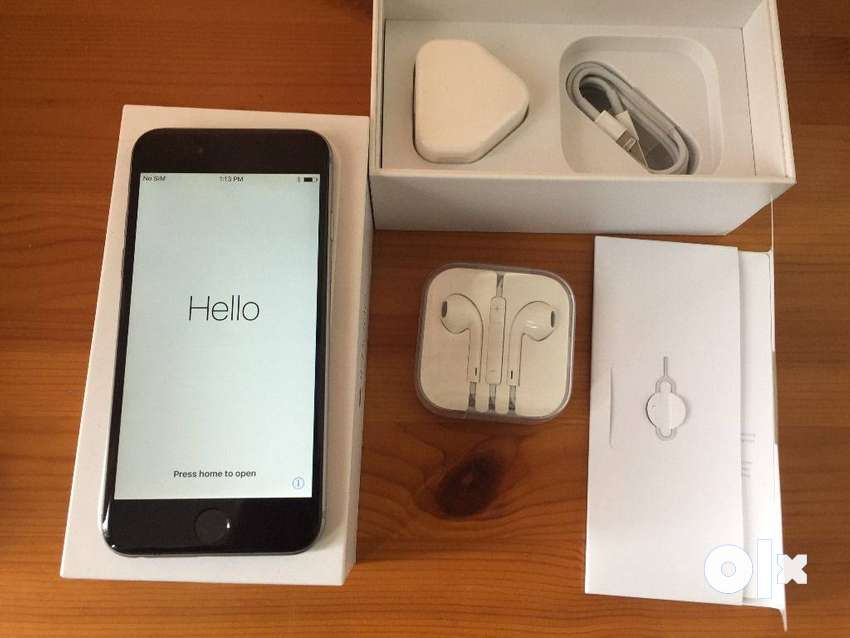 Iphone  6s plus  32 used phone with box 0