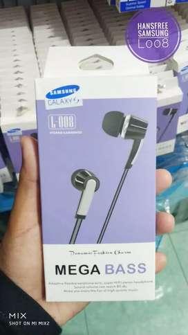 Grosir handsfree samsung l008+mic