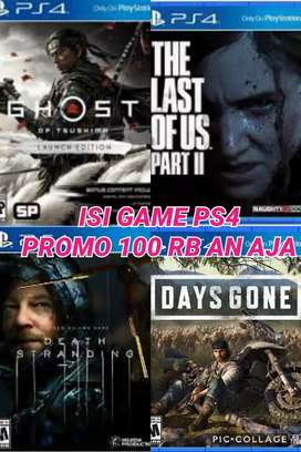 Game ps 4 ori siap cod juragan