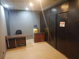 Full furnished office available on sharing Basis.