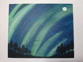 Beauty of twinkling sky