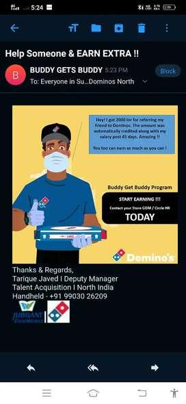 Domino's Pizza delivery company