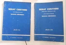 Dua buku serat centhini