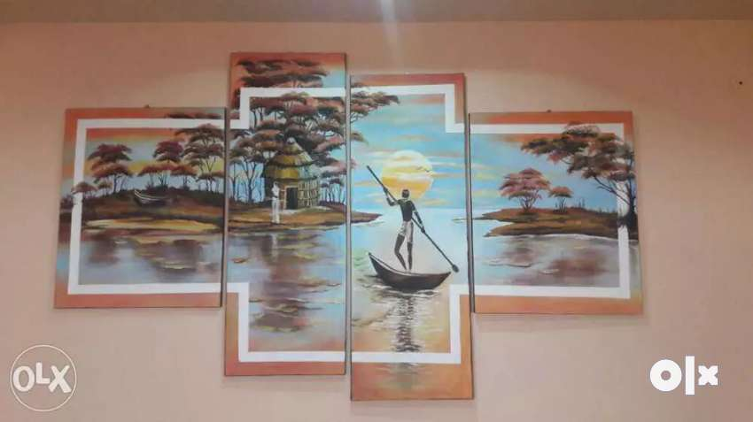 4 Piece Canvas Painting 0