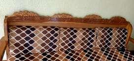 6x6.5 size sofa cum bed Original Teak wood