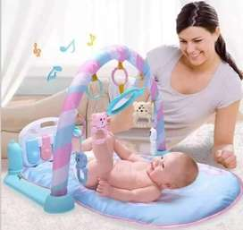 Baby fitness play gym piano 2in1