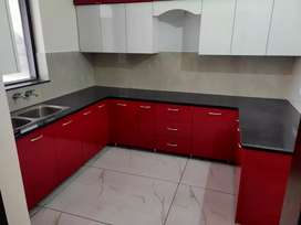 2 bhk kothi first floor newly built at model Town extn attached washro