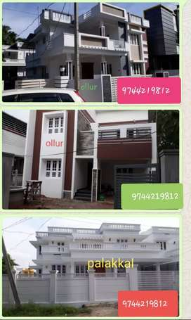 4 bhk new house in Thrissur ollur