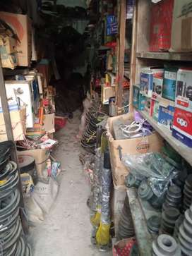Selling spare part shop