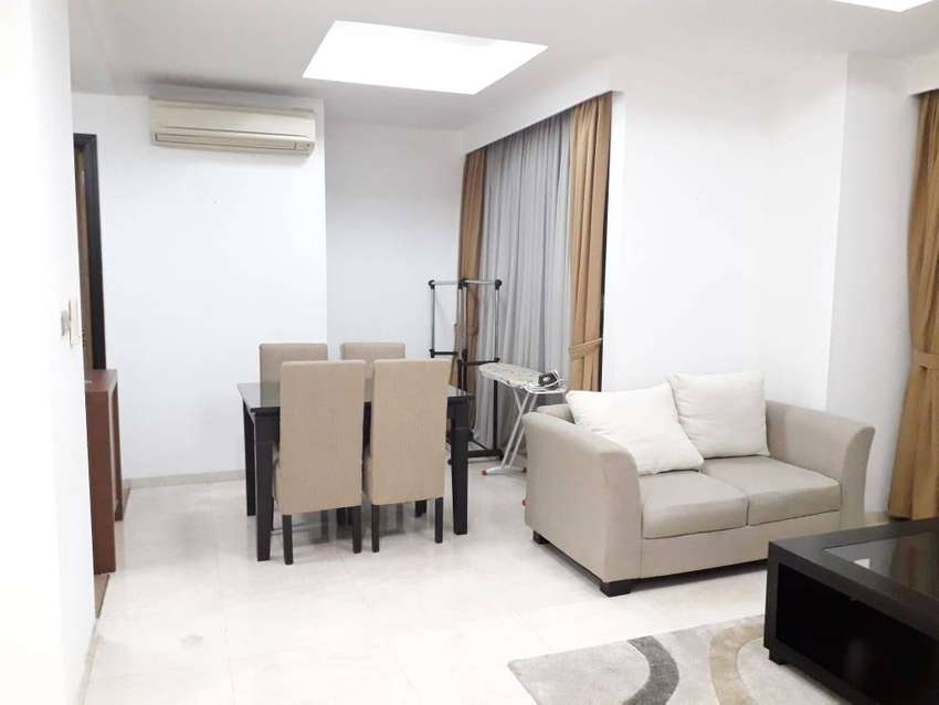For rent 2BR, Setiabudi Residence, white and simple furnished 0