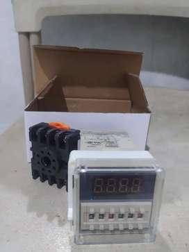 Perlengkapan mesin tetas (Timer dan dinamo)