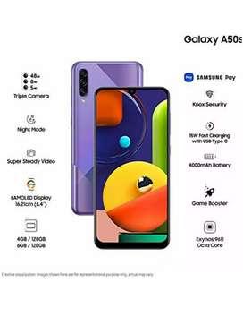 Samsung a50s 6GB ram 128 GB storage