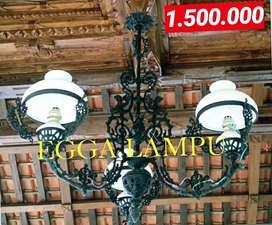 Produksi Egga Dan Grosir Lampu Gantung Antik Klasik Hias Joglo Gebyok
