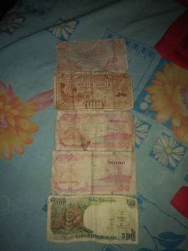 Jual Uang Lama Rp.500 Rp.100 Rp.25