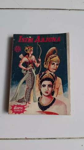 Buku cerita Bergambar Komik Wayang Istri Arjuna