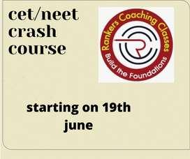 KCET/NEET CRASH COURSES