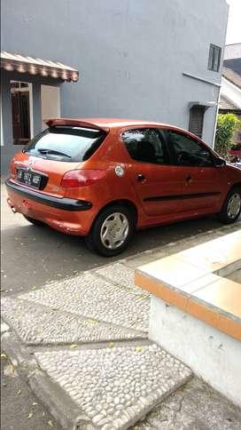 Jual Peugeot 206 THN 2001